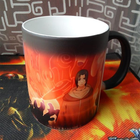 naruto magic coffee mug, naruto mug