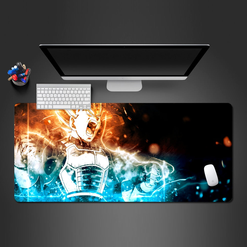 SSJ Vegeta Large Mouse Pad