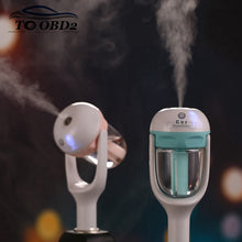 Newest Auto Humidifier Air Purifier For Car Charger DC 12V Auto Power Off Sprayer Add Water Essential Oil Fragrance New Sale