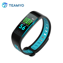 Teamyo Smart Band Heart Rate Monitor Fitness Tracker Light Sensing Screen Smart Bracelet Blood Pressure Wristband For AndroidIOS