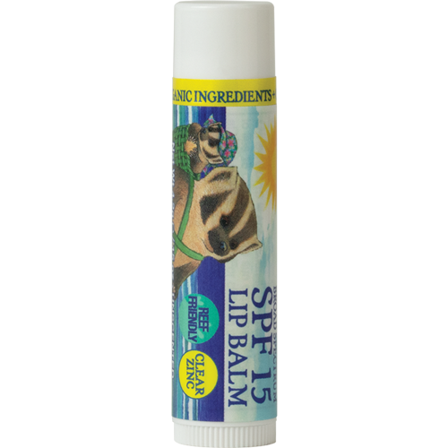 NEW - Badger Clear Zinc Oxide Sunscreen Lip Balm