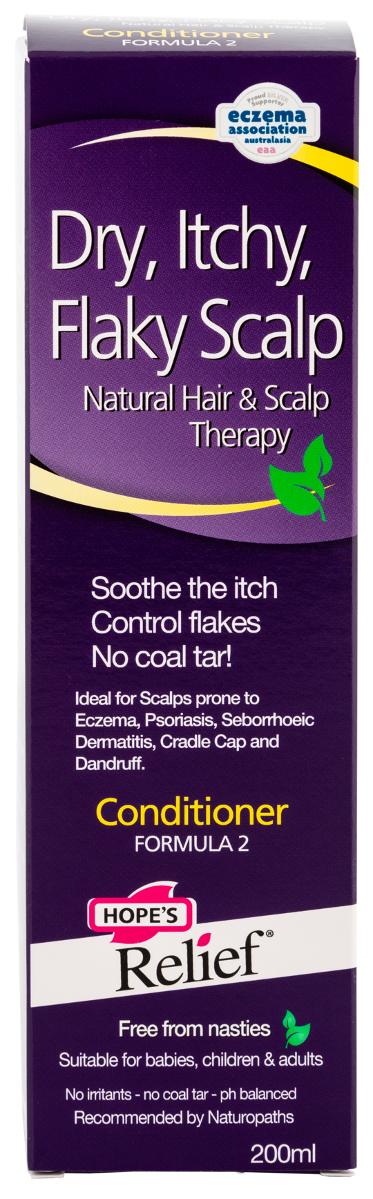 Hope's Relief Itchy Flaky Scalp Conditioner with Natural Ingredients