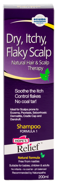Hope's Relief Itchy Flaky Scalp Shampoo with Natural Ingredients
