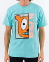 Youth | Half Face Mint Tee