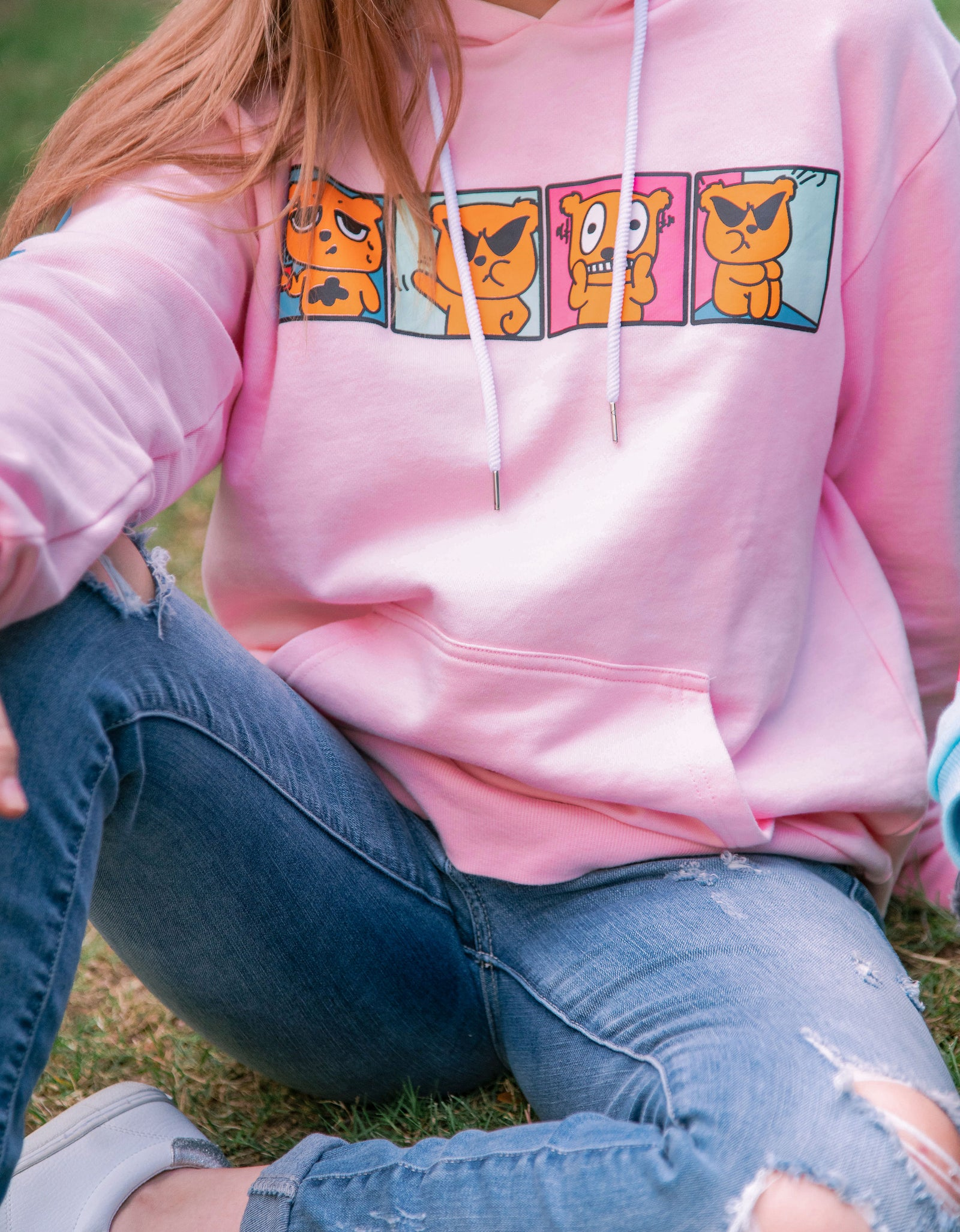 Youth | Moods Pink Hoodie