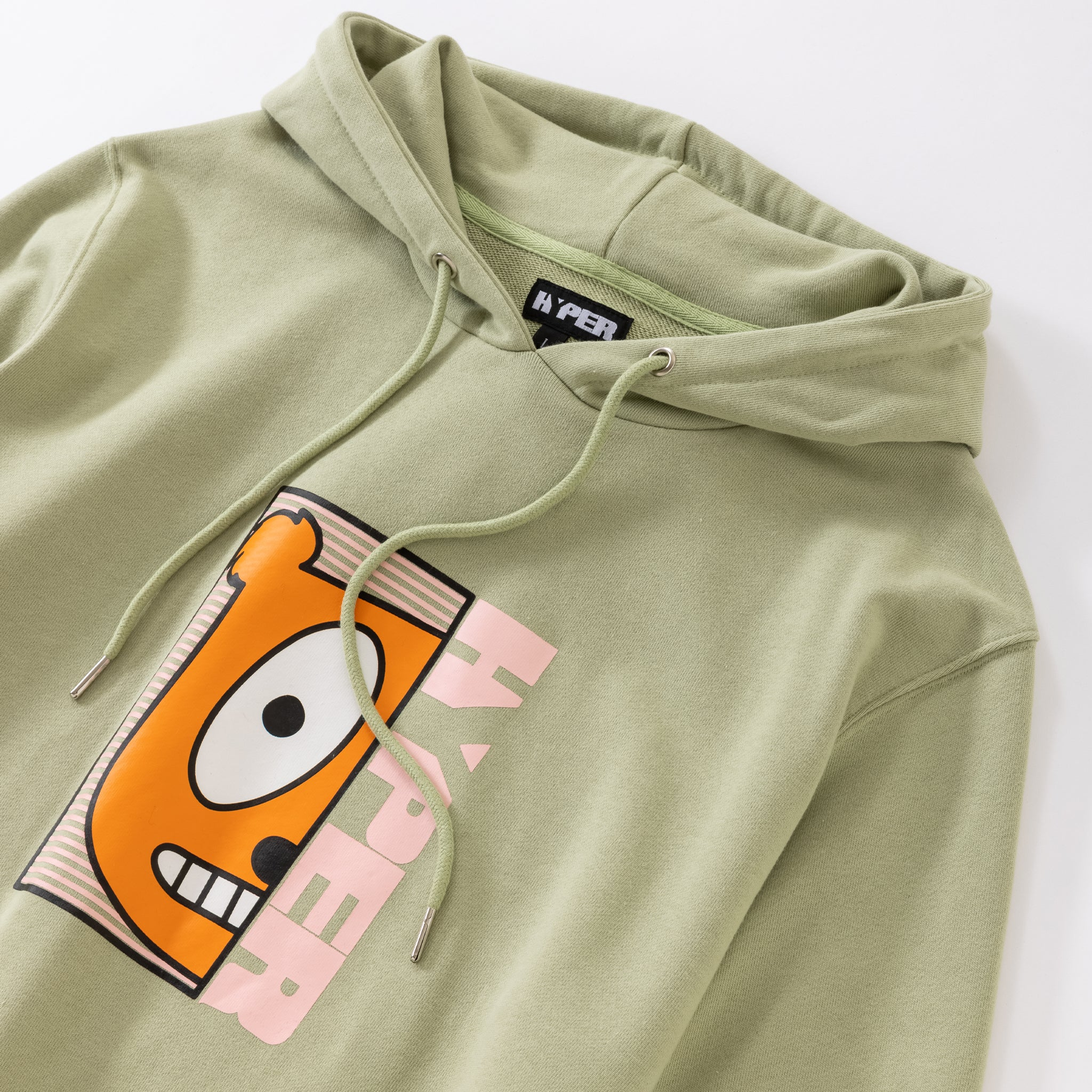 Youth | Half Face Green Hoodie