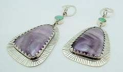 Vintage Collection: Amethyst with Turquoise Dangles