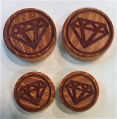 Diamond Wood Plugs