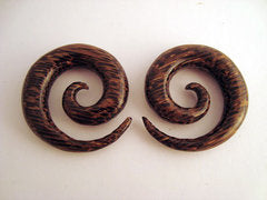 Palm Wood Spirals