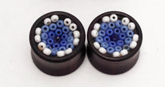 Peyote Huichol Beaded Plugs - Air