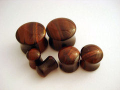Red Tiger's Eye Stone Plugs