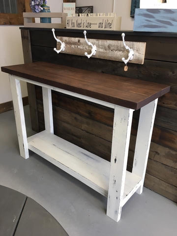 Home Series ~ Project 1 of 7 Class #2 Sofa Console Table Saturday March 9th 12-4PM