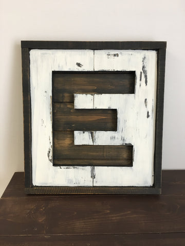 Home Series ~ Project 6 of 7 Framed Monogram Tuesday March 19th 630-930PM