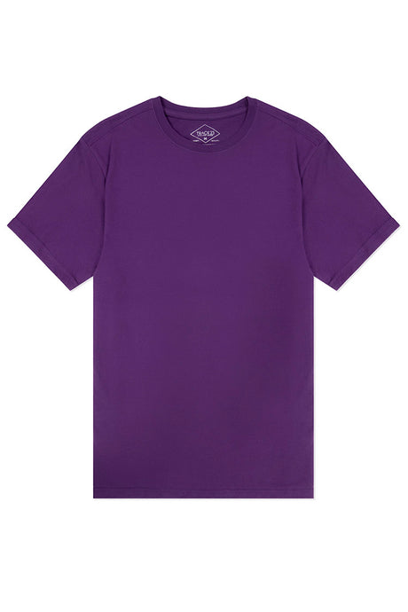 Basic Crewneck T-Shirt - Purple