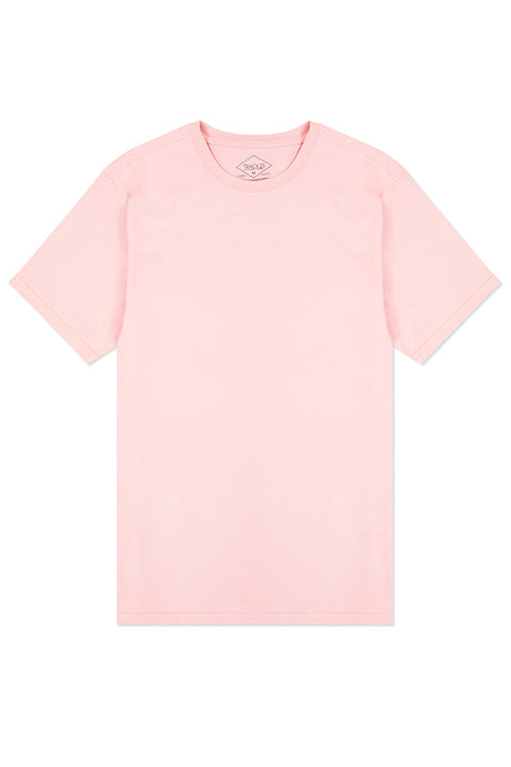 Basic Crewneck T-Shirt - Pink