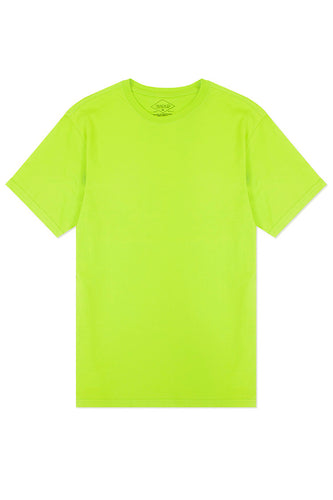 Basic Crewneck T-Shirt - Lime