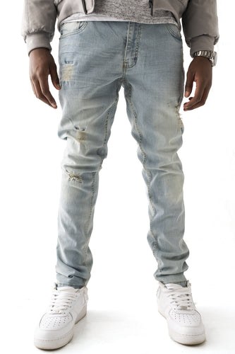 Premium Essential Stretch Skinny Jean - Light Wash