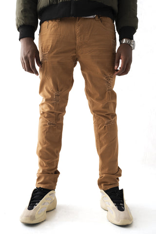 Premium Essential Stretch Skinny Jean - Wheat