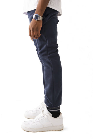 Basic Essential Jogger - Navy