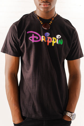 Drippin Graphic T-Shirt - Black