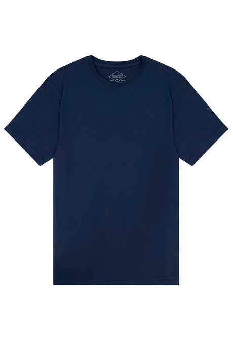 Basic Crewneck T-Shirt - Navy