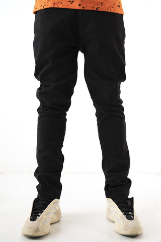 Core Essential Color Twill Jeans - Black