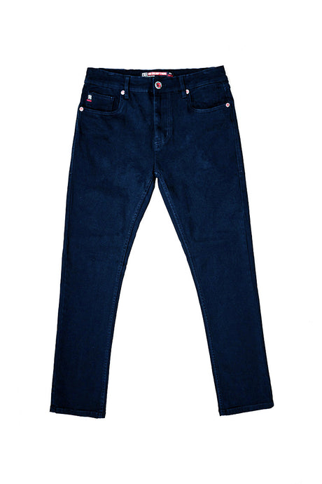 Core Essential Color Twill Jeans - Navy