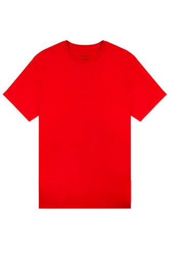 Basic Crewneck T-Shirt - Red