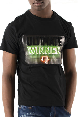 Ultimate Winner Graphic T-Shirt - Black