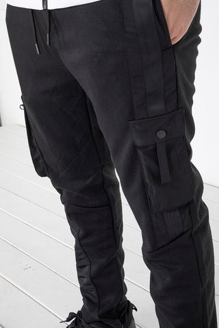Cargo Tech Pants - Black