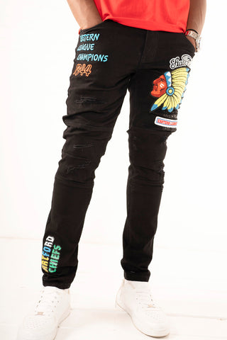 Premium Hartford Chiefs Jeans - Black