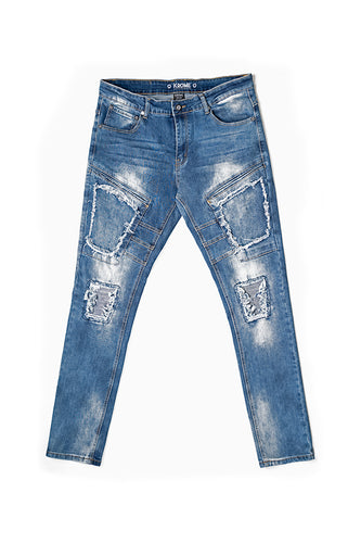 Premium Fashion Jeans - Slim Fit - Delusion Blue