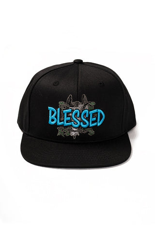 Blessed - Snap Back Hat - Black