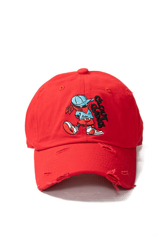 Clout Gang - Dad Hat - Red