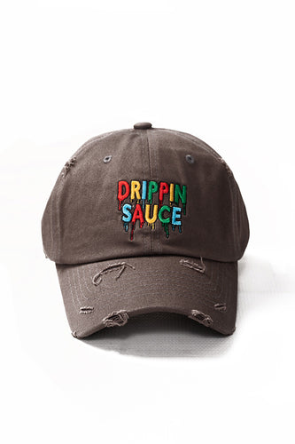 Drippin Sauce - Dad Hat - Dark Grey