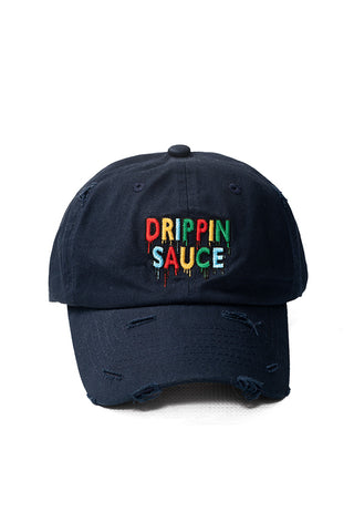 Drippin Sauce - Dad Hat - Navy