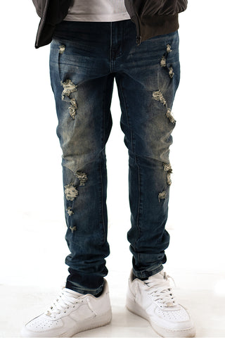 Premium Essential Slim Taper Jean - Vintage Wash