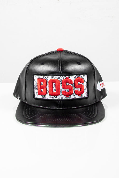 Snap Back Hat - Boss - Black