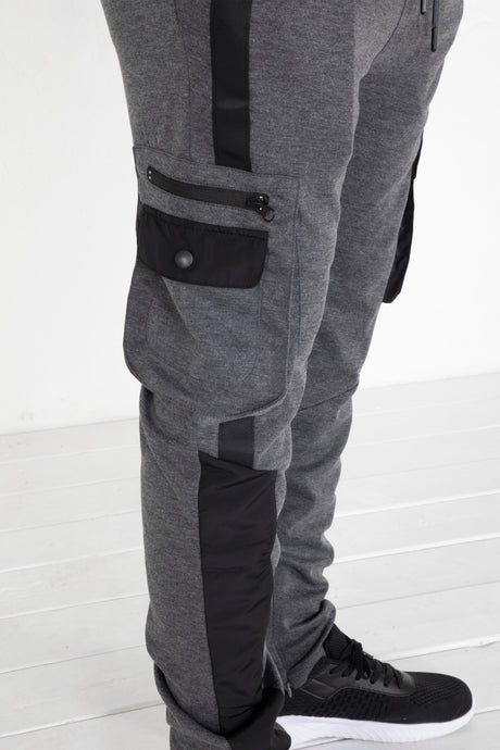 Cargo Tech Pants - Charcoal Grey