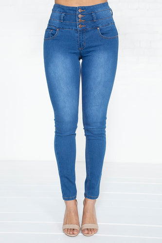 4-Button Colombian Jeans - MD