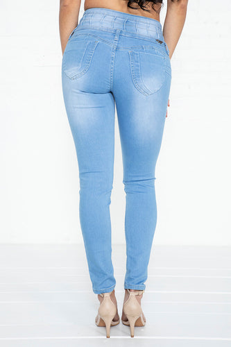 4-Button Colombian Jeans - LT