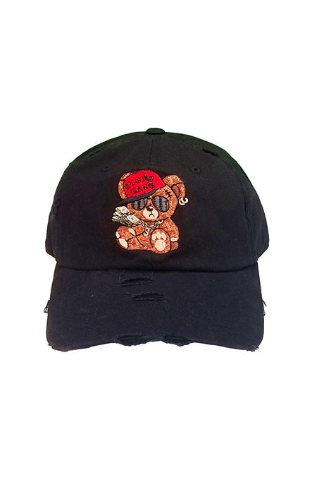 Cash Bear - Dad Hat - Black