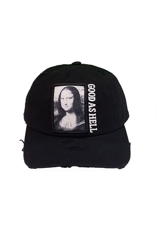 Mona Lisa - Dad Hat - Black