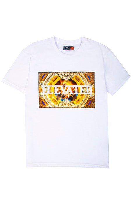 3D Embossed Elevated T-Shirt - White