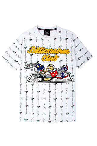 Billionaires Club Bunny Tee - White