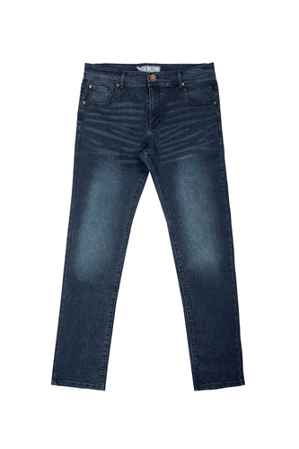 Core Essential Basic Skinny Jeans - Deep Indigo