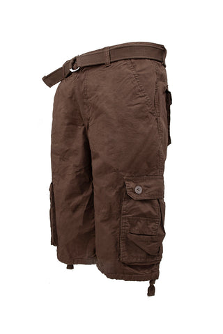 Core Essential Cargo Shorts - Brown