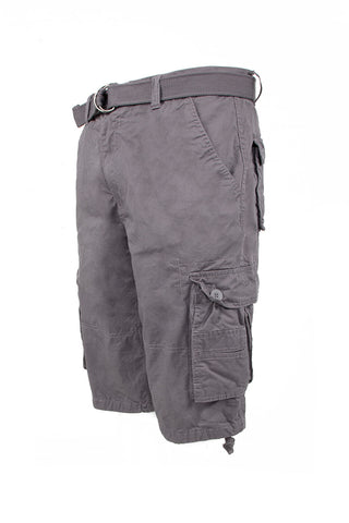 Core Essential Cargo Shorts - Charcoal