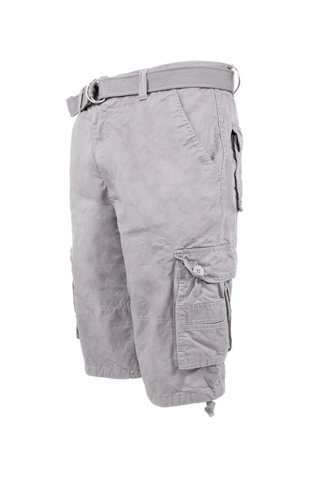 Core Essential Cargo Shorts - Grey