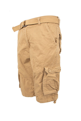 Core Essential Cargo Shorts - Khaki